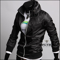 2012 han thin high-quality goods of cultivate one's morality fashion large size leisure LiLing man jacket