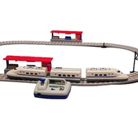 FREE SHIPPING Brightness orbit train toy electric train track model high speed bullet