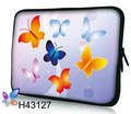 "New Arrival ! Wholesale ! Bag Case Sleeve Protector  For  Universal  7"" tablet pc   Butterfly design & Waterproof &Freeshipping"