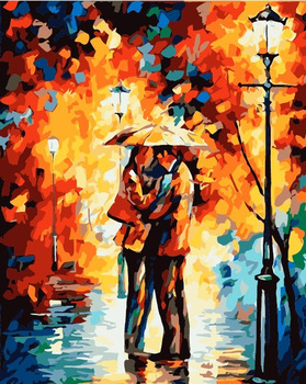 PROMOTIONAL Diy digital oil painting marry lovers lover 40 50 decorative painting by numbers