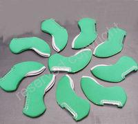 New 10pcs Iron Head Covers Headcovers Green Neoprene 2012 G007