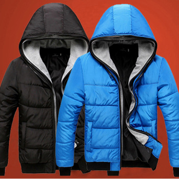 Autumn and winter 2012 men's clothing thickening outerwear male wadded jacket cotton-padded jacket thin cotton-padded jacket