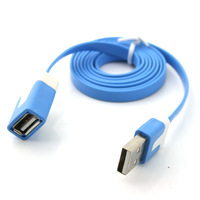Dual color USB 2 USB public on USB base extension line data line data transmission line