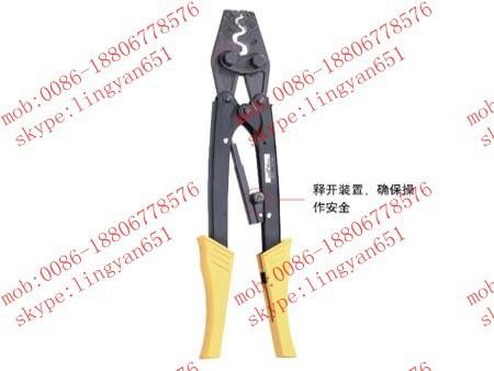 Ratchet terminal crimping tools HS-38 capacity ,Life time more than 30,000 times.(China (Mainland))