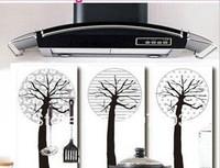 High-grade aesthetic oil sticker coffee tree/prevent oil pollution sticker lampblack sticker 55 g