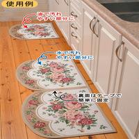 Ultra-thin waste-absorbing slip-resistant mats kitchen mat mats carpet doormat 48 60cm