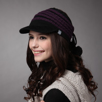 Free Shipping Kenmont Women autumn and winter knitted hat knitted hat fashion hat km-1160 Christmas Gift