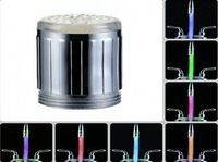 LED Light Water Faucet Automatic 7 Color Changing Glow Shower Stream Tap
