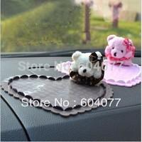 Car styling 1pcs/lot  Heart And Cute Bear  Anti-slip mat sticky pad  non-slip pad auto interior Anti-slip Pad
