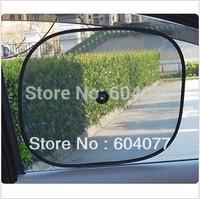 New 2014 1pairs/lot  Black Car Sun Shade Rear side Window Sunshade Cover Mesh Visor Shield Screen