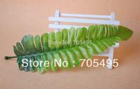 Free Shipping 200pcs/lot 20cm Length Artificial DIY Fern Leaves Silk Leaves