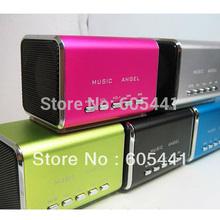 Mini Speaker Sports MP3 Player Sound box Boombox with Micro SD/TF card reader + USB(China (Mainland))
