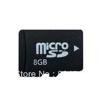 Cheap Wholesale Free shipping  8GB Micro SD Card TF Card Full Capacity Flash Card