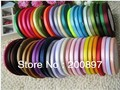 solid color 6mm satin ribbons belt gift packing wedding decoration 25yards roll 20 rolls min order mixed colors available