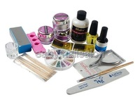Neuf Professional Care Nail Art Salons Kit Ongles Whole Set Products C395