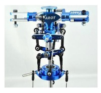F00657 Tarot Metal Main Rotor Head set (Blue) TL2413 For TREX T-REX 450 Sport V3 Rc Helicopter + Freeship