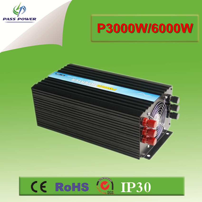 CE RoHS SGS approved,12v 220v 3000watt pure sine wave inverter,off grid/single phase(China (Mainland))
