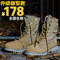 Genuine leather male high boots desert boots lovers design tooling martin boots