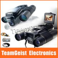NEW 12x15 Foldable 1.5'' TFT LCD Build-in Digital Camera capture Binoculars Magnifies Telescope 800K CMOS Sensor Video Recording