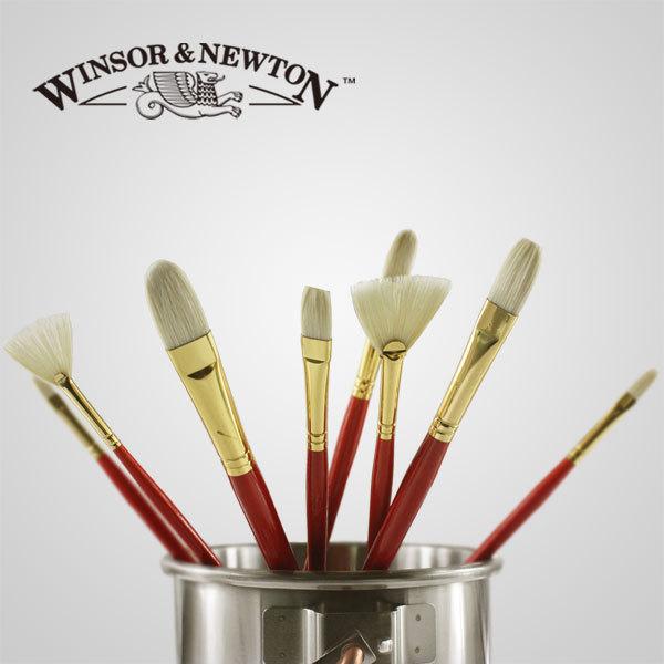 8 pcs windsor newton soies cheveux filbert t te de - Peinture bonne qualite ...