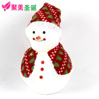 Christmas tree decoration christmas Large snowman christmas decoration christmas gift christmas doll 45cm