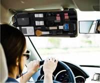 DHL EMS Free Shipping Cocoon Grid-It Organizer stretchy storage board for Car sun visor