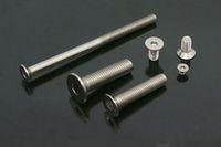 1000pcs/lot DIN7991 M3*8 Stainless steel flat head socket screw