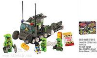 Building Block Set SLuBanM38-B0103 SRS emergency rescue team/hazardous substances rover ,3D  Model,Educational