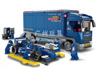 Building Block Set model,3D  Block,Assembled educational toys,SlubanB0357,Free Shipping