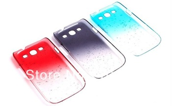 3D Raindrop Design Hard Case Cover For Samsung Galaxy S3 S III I9300 Free Shipping 10pcs