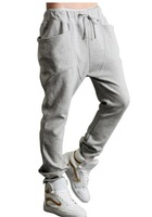 Best-selling Free shipping Men Women Sweat Pants  /Sports and Leisure couple harem pants / Slim new trousers