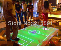 interactive projection floor system software for interactive advertising, projection show