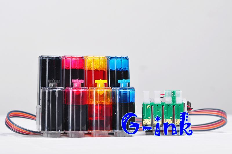 Система непрерывной подачи чернил G-ink Epson Stylus S22 SX125 SX130 SX235W SX420W SX435W for epson t1281 t1282 t1283 t1284 refillable ink cartridge for epson stylus s22 sx125 sx130 sx235w sx425w sx435w printer part