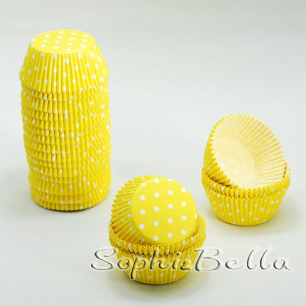 Supermarket products 400 Pcs polka dots cupcake decorating ideas baking supplies Cake Tools B014 D(China (Mainland))