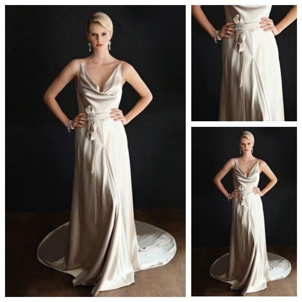 Popular dresses for hourglass figures aliexpress for Wedding dresses for hourglass figures