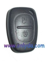 Hot sell new Car key renault Clio / Kango  2 button remote with 434mhz after 2000 year with high quality 60% free shipping