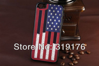 10pcs/lot Sands of Time Style Luxury GB/US National Flag Hard Back Case, Special Cover Case for Iphone 5 5G, Free Shipping