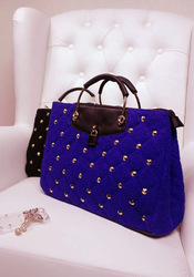 2012 bags rivet document vintage cross-body tote bag metal lock(China (Mainland))