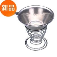 Jade yixing teapot tea set gift stainless steel tea filter saucer