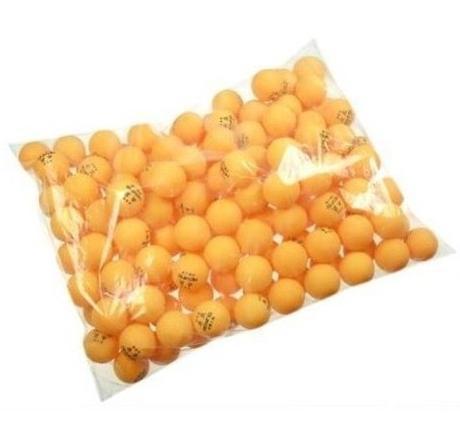 Free shipping 140 pcs Orange AOYING 40mm Table Tennis Balls Ping Pong Balls(China (Mainland))