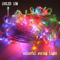 100 LED String Party Light Wonderful for weddings party festival christmas,garland led