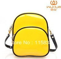 Wholesale Cut price New style colorful japanned leather candy color messenger bag shoulder bag shopping purse new arrival