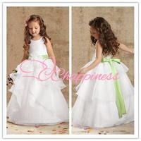 New FashionTank Ball Gown Flower Girl Dresses Child Dress