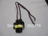 longyue 20pcs H8 /H11 /881 female nylon Heat Resistance Halogen headlamp pigtail connector 15cm wire
