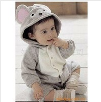 Free shipping china post ! 5sets/lot  Wholesale 2012 Baby rompers autumn clothes baby wear in stock,baby polar bears for sale36