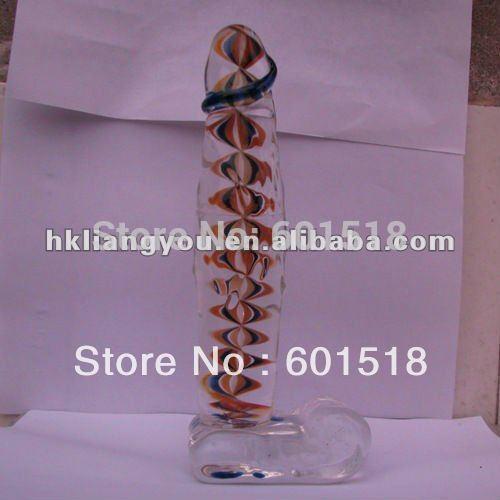 Giant glass pyrex dildos