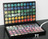 120 Full Color Eyeshadow Palette Eye Shadow Makeup 2 layer easy-to-carry design