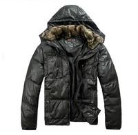 New arrival men down jacket/mens winter cotton warm coat/ men's down clothes+free shipping
