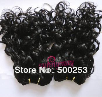 Sunnymay Funmi Curly Brazilian Virgin Human Hair Extension