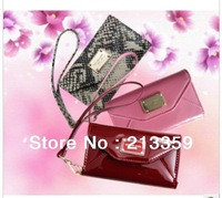 Free shipping for Hot  women's Wallets Leather pouch For iphone4 /4S,for IPhone 5/Samsung i9300/S3 /HTC Wallet mobile case cover